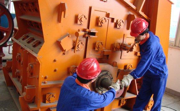 дробления и горно-шахтного
