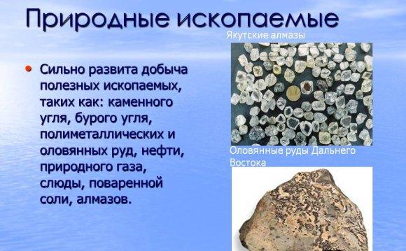 Природные ископаемые