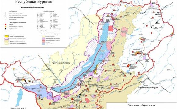 Геолого-экономическая карта